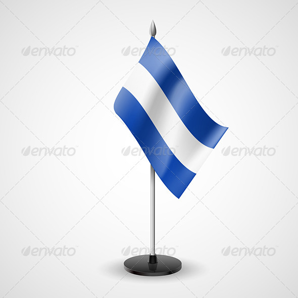 Table Flag of El Salvador - Miscellaneous Vectors