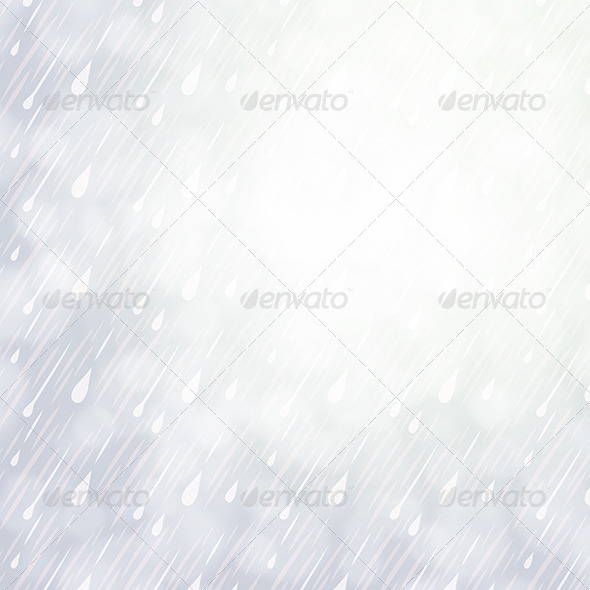 Overcast Rainy Day Background - Nature Backgrounds