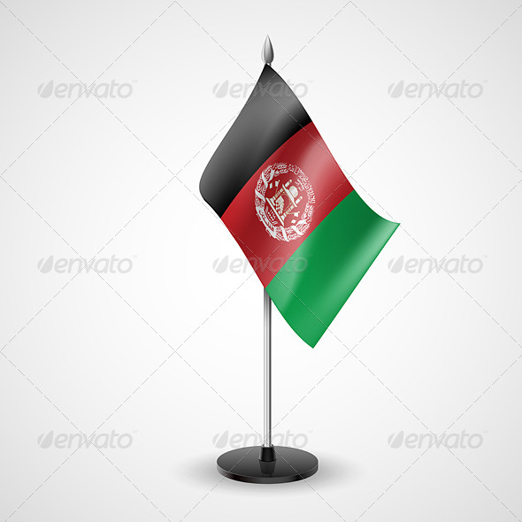 Table Flag of Afghanistan - Miscellaneous Vectors