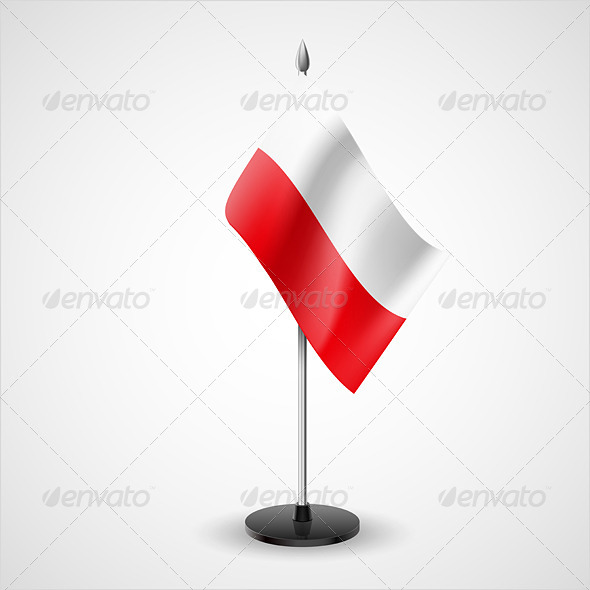 Table Flag of Poland - Miscellaneous Vectors