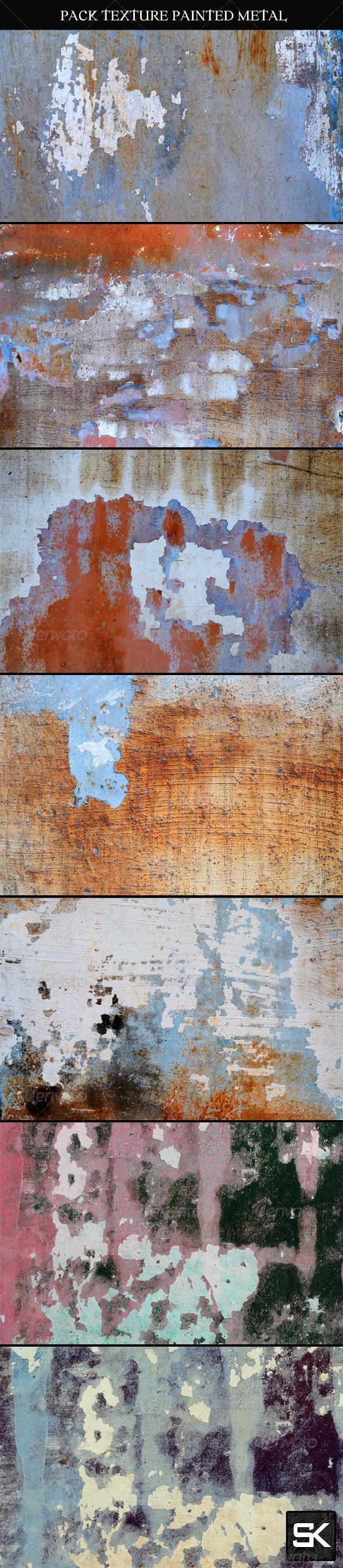 Painted Metal Surface - Metal Textures