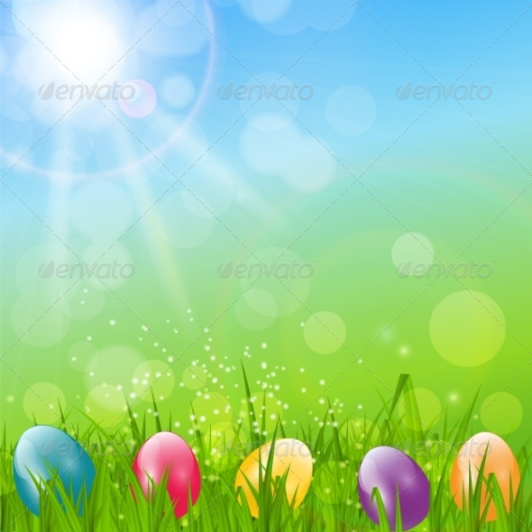 Easter Background Illustration - Flowers & Plants Nature