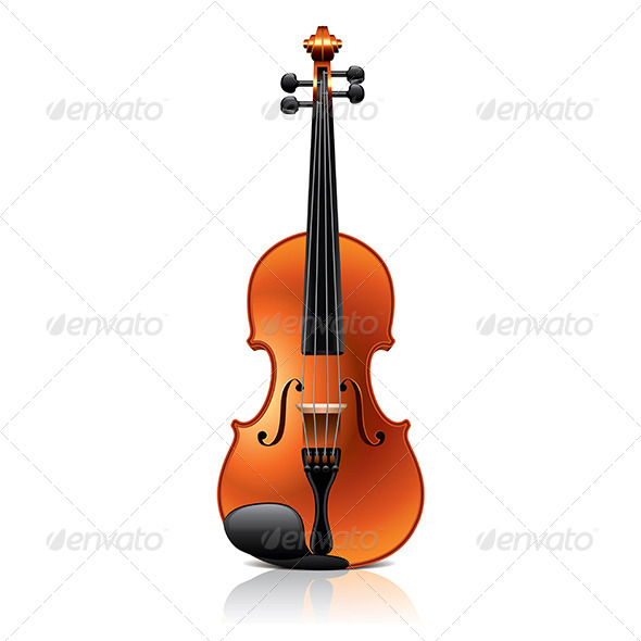 Classic Violin  - Man-made Objects Objects