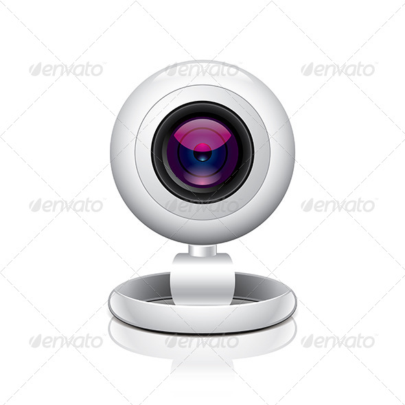 White Webcam - Web Technology