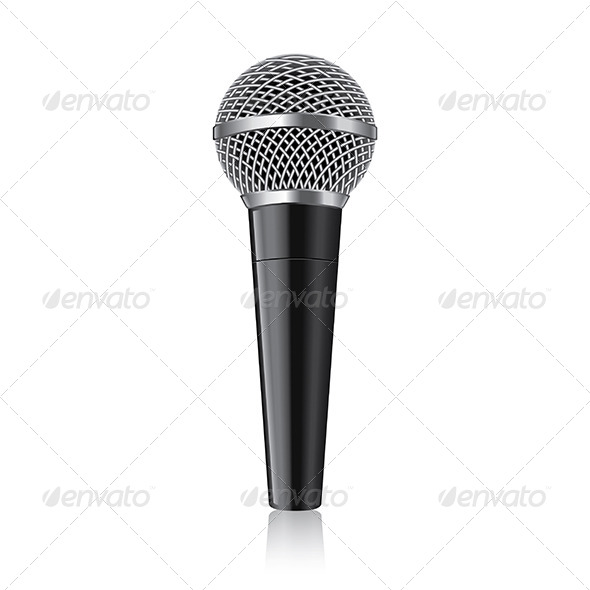 Modern Microphone - Man-made Objects Objects