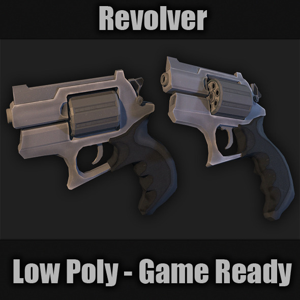 Revolver - 3DOcean Item for Sale