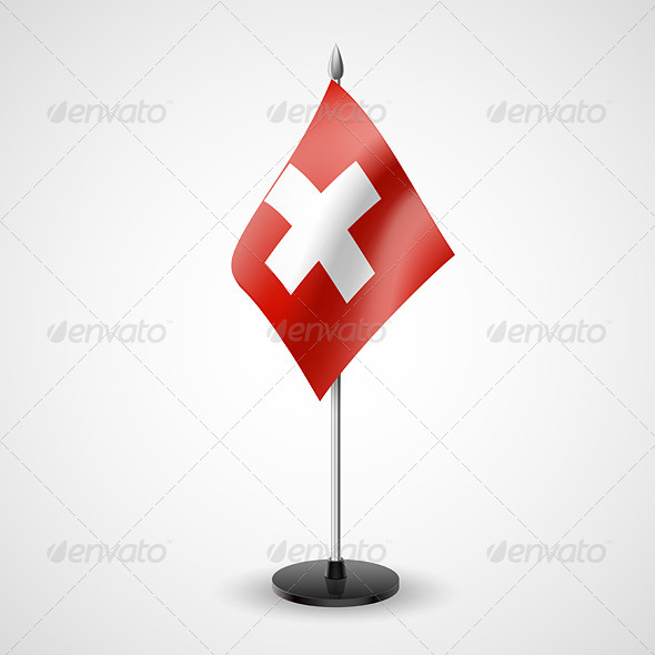 Table Flag of Switzerland - Miscellaneous Vectors