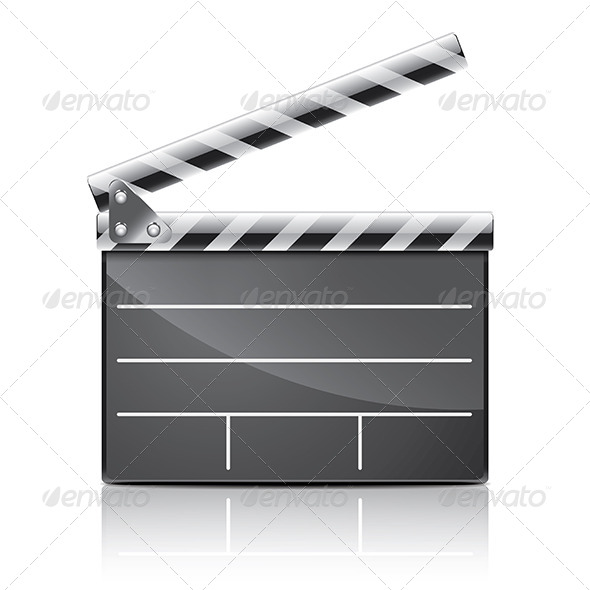 Clapper Board - Miscellaneous Vectors