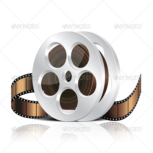 Film Reel - Man-made Objects Objects