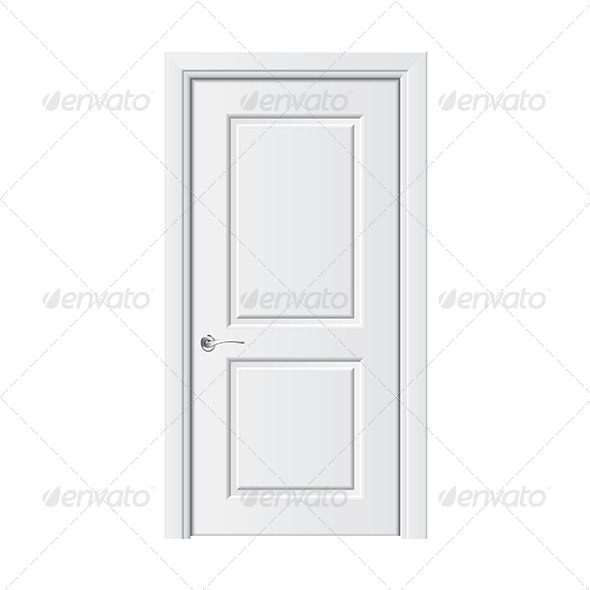 White Door - Man-made Objects Objects