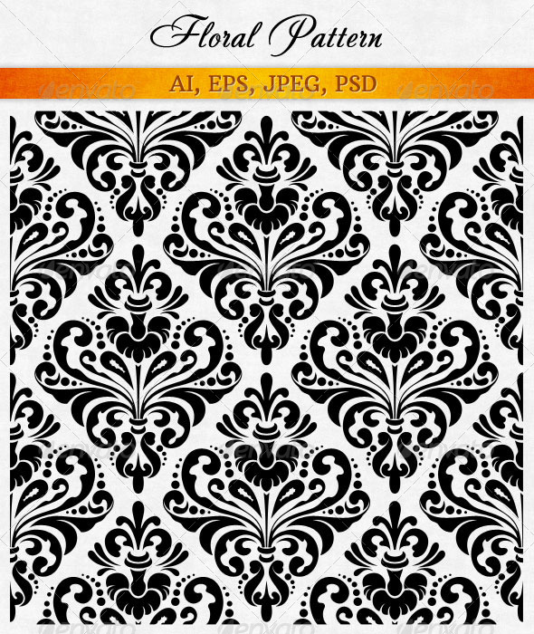 Damask Wallpaper - Patterns Decorative