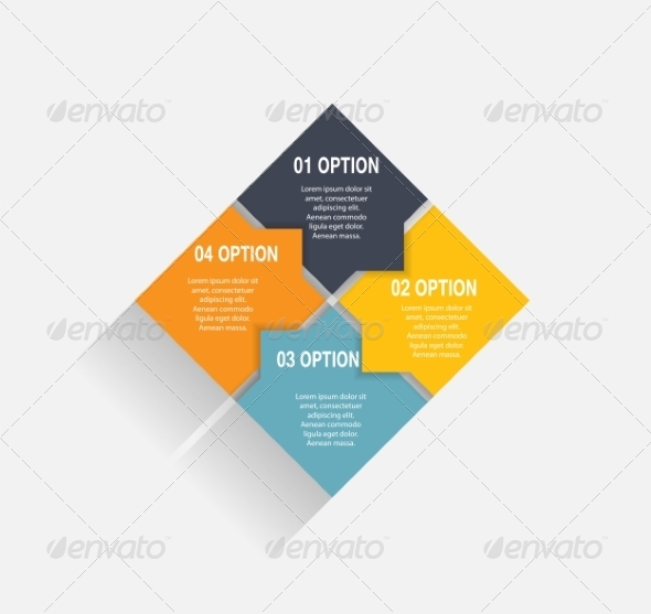 Infographic Business Template - Web Technology