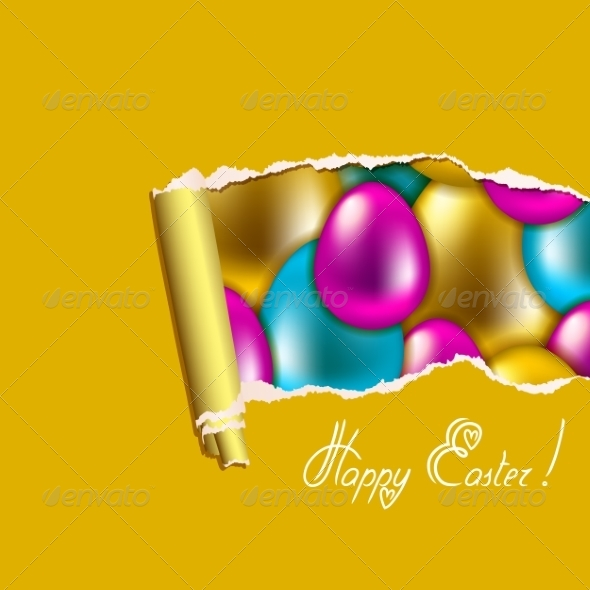 Seamless Easter Background - Miscellaneous Seasons/Holidays