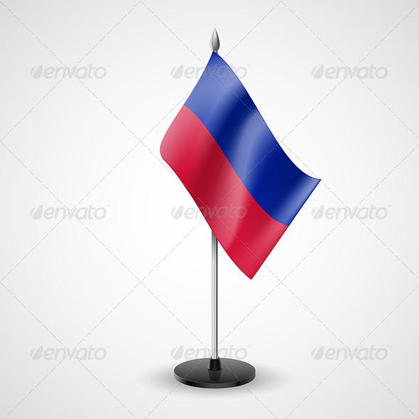 Table Flag of Haiti - Miscellaneous Vectors