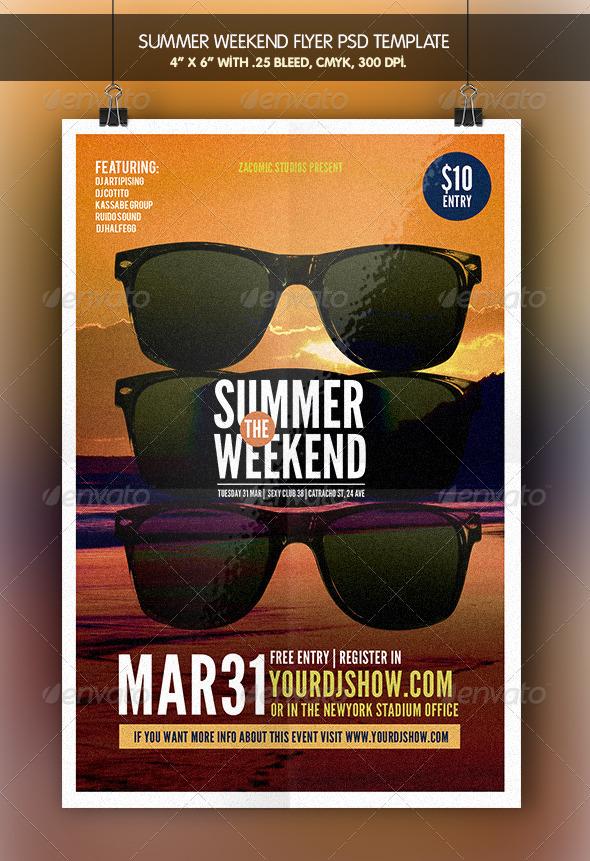 Summer Weekend | Flyer Template