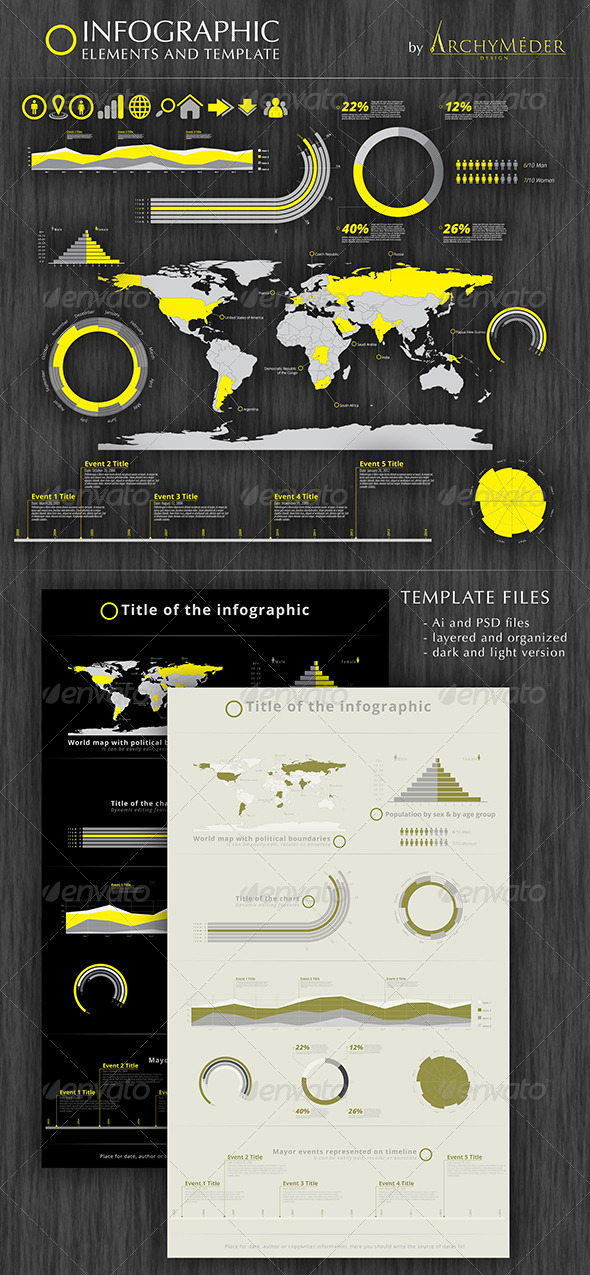 Infographic Element and Template - Infographics