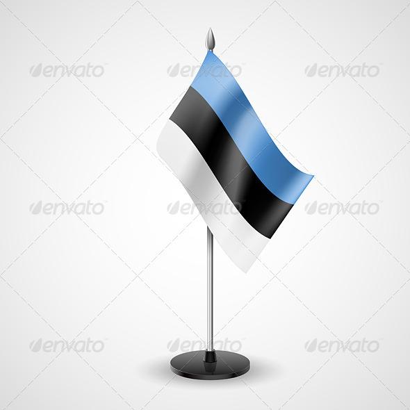 Table Flag of Estonia - Miscellaneous Vectors