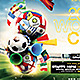Brazil 2014 Soccer Football Cup Flyer Template - GraphicRiver Item for Sale