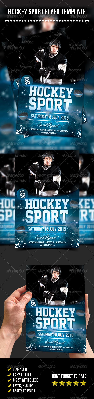 Hockey Sport Flyer - Sports Events