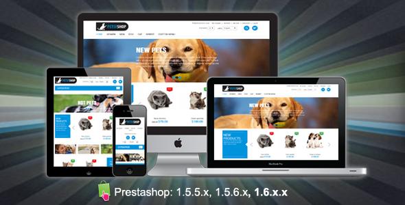 PetsyShop Responsive Prestashop Theme