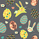 Easter Bunny Egg Repeat Pattern - GraphicRiver Item for Sale