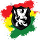 Lion Rastafarian Shield Black - GraphicRiver Item for Sale