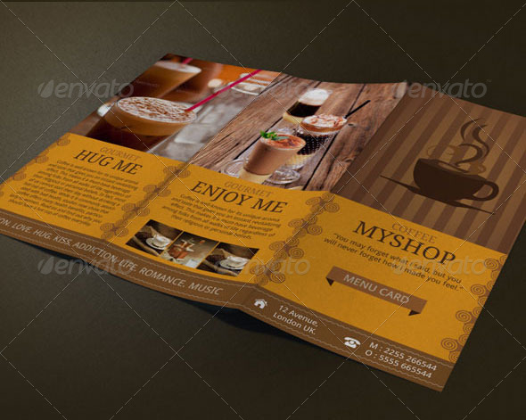 Coffee Shop Menu By Blogankids  Graphicriver