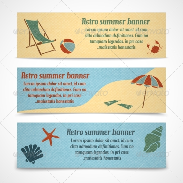 Vacation Banners - Travel Conceptual
