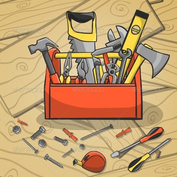 Working Toolbox and Instruments Kit - Industries Business