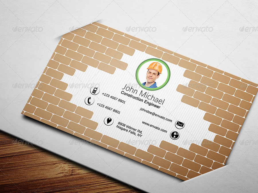 civil engineer business card 1 creative business cards 01_preview1jpg 02_preview2jpg - Engineer Business Card