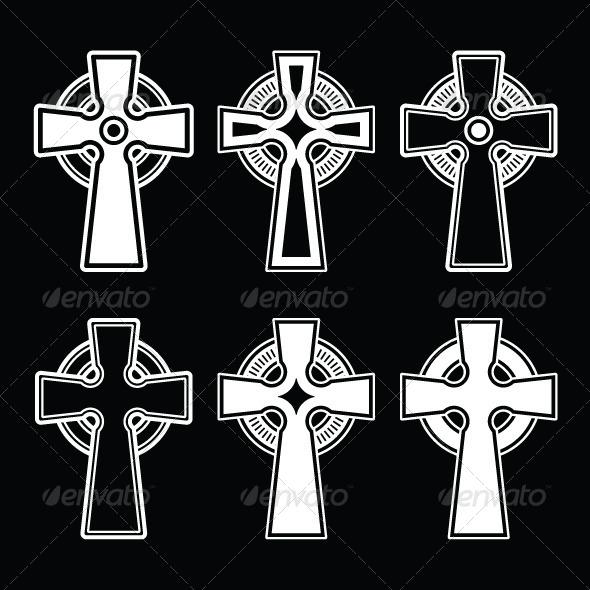 Celtic Cross - Religion Conceptual