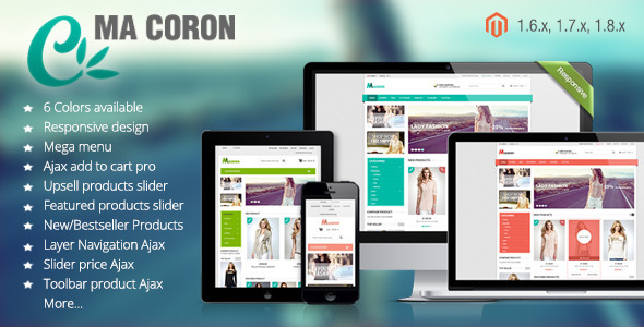 Coron – Fashion Responsive Magento Theme
