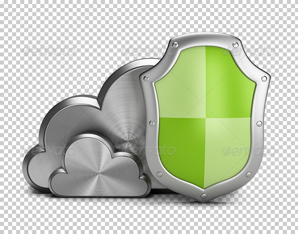 Cloud Security - Objects 3D Renders