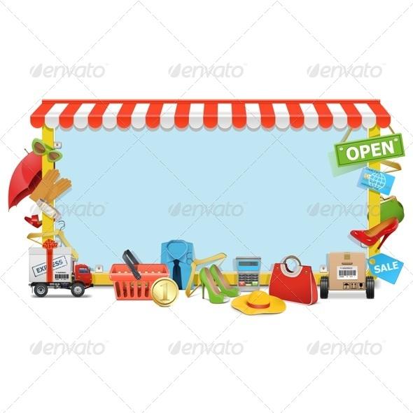 Shopping Board - Commercial / Shopping Conceptual