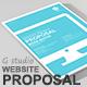 Gstudio Website Proposal Template V2 - GraphicRiver Item for Sale