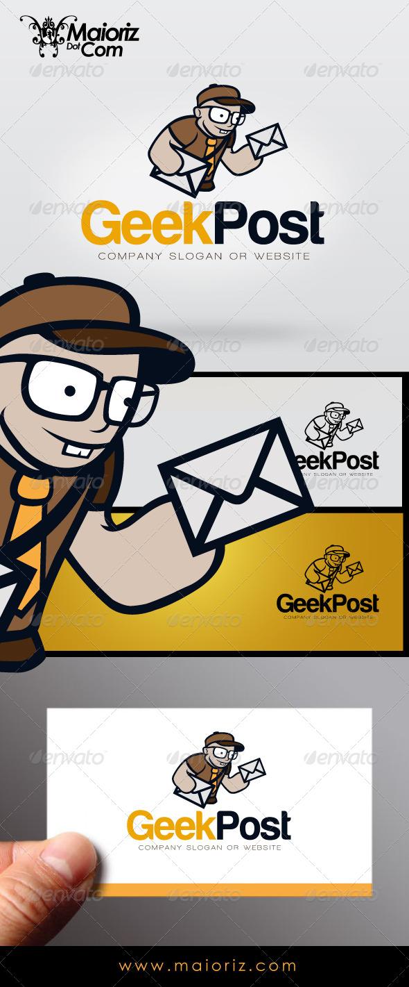 Geek Post Logo - Humans Logo Templates