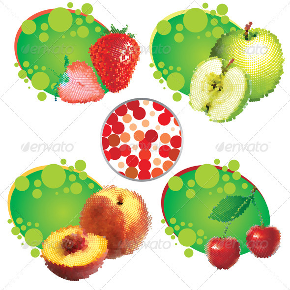 Summer Fruit - Food Objects