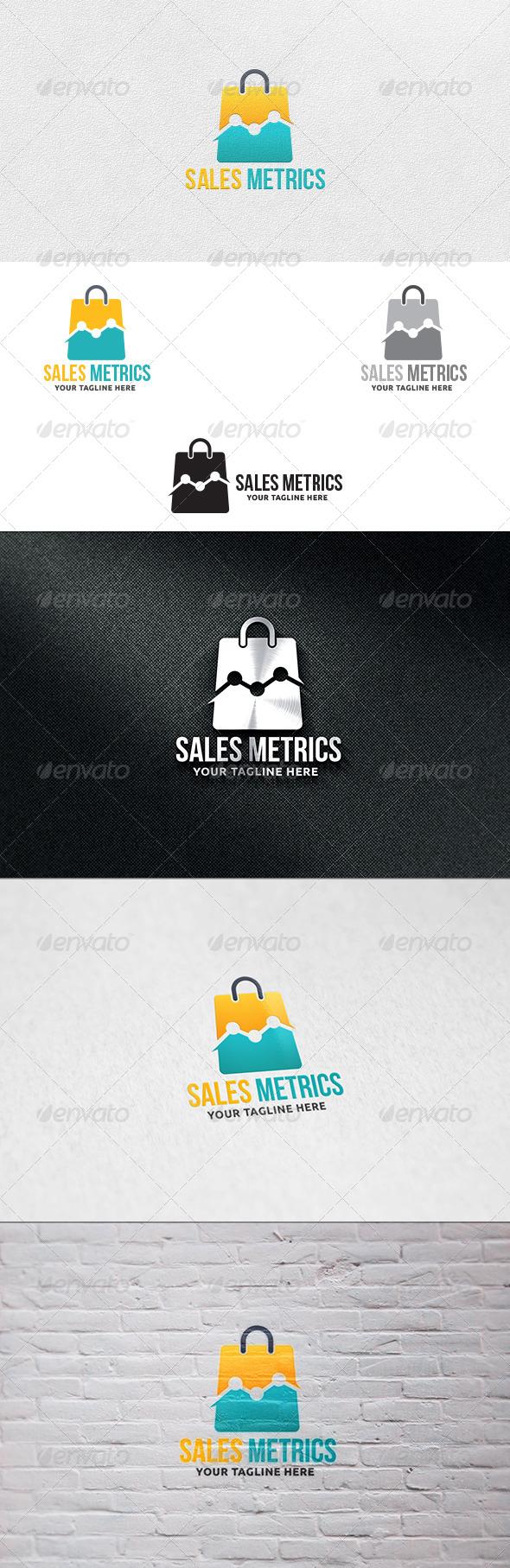 Sales Metrics V2 - Logo Template - Symbols Logo Templates