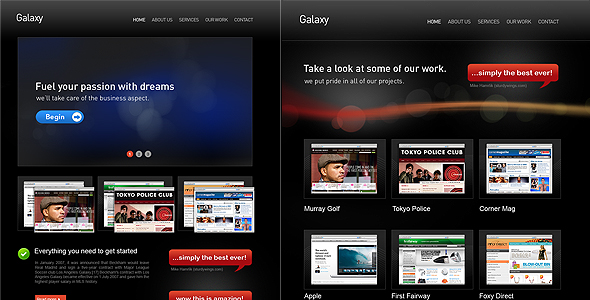 Free Download Galaxy Pro Theme Nulled Latest Version