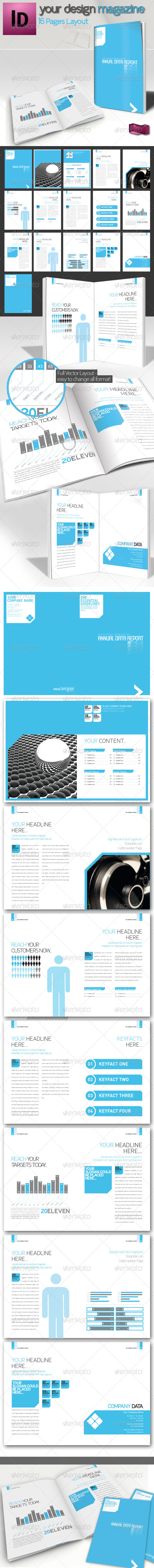Professional Brochure // Magazine Template // A4  - Corporate Brochures