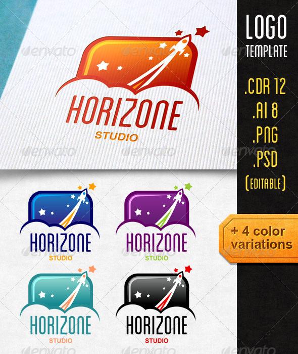 Horizone Logo Template - Objects Logo Templates