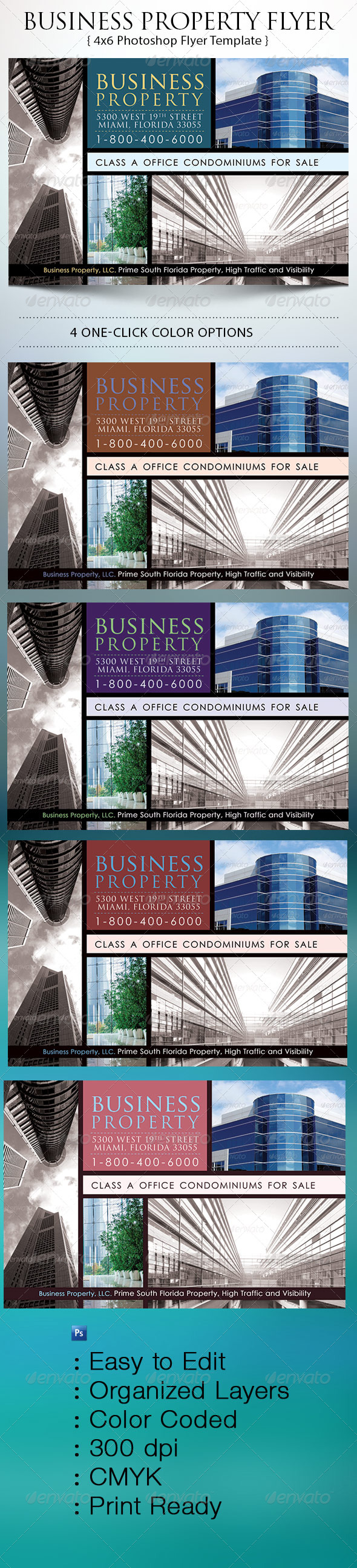 Business Property Flyer - Corporate Flyers