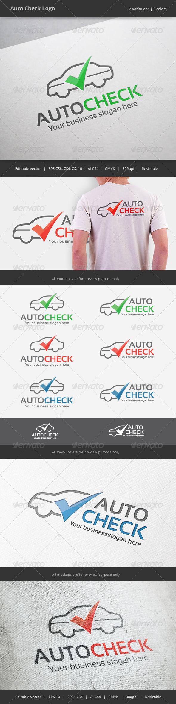 Auto Check Car Logo