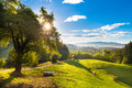 Idyllic countryside site, Alps, Slovenia, Europe. - PhotoDune Item for Sale