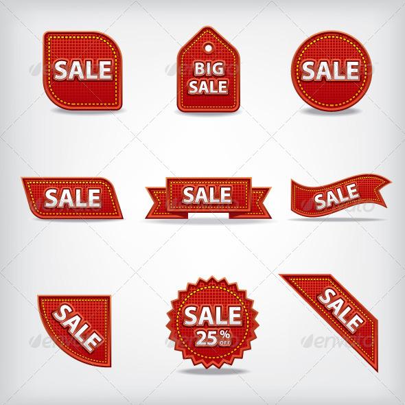 Sale Tags - Vectors