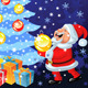 Vector happy Santa Claus and snowman decorate the  - GraphicRiver Item for Sale