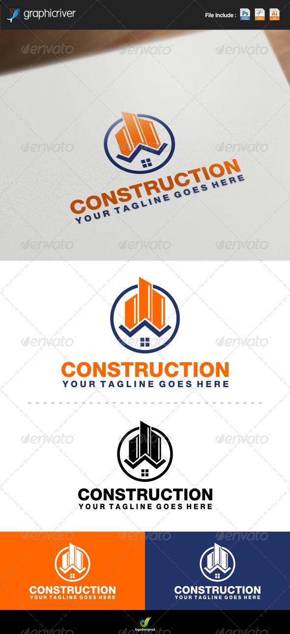 Construction Logo - Symbols Logo Templates