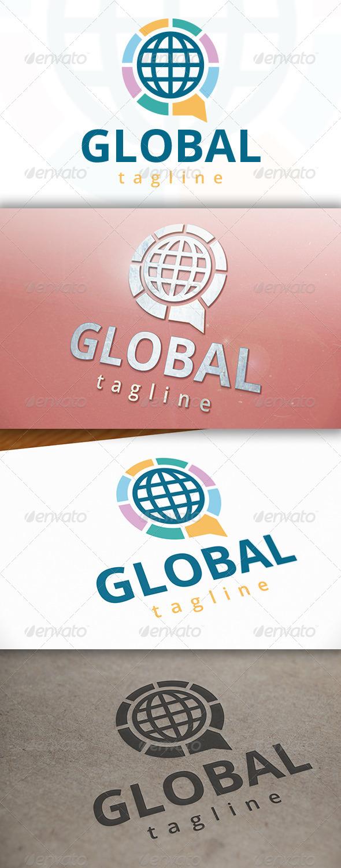 World Chat Logo - Symbols Logo Templates