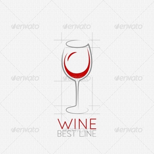 Wine Glass Design Background - Food Objects
