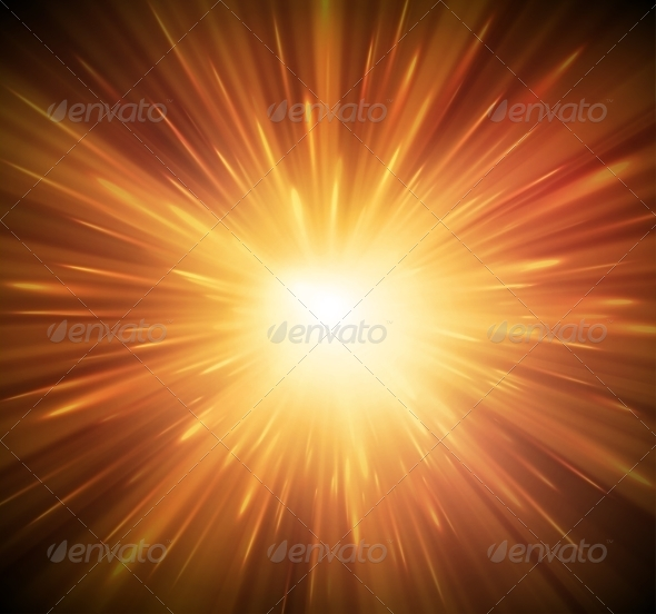 Background with Explosion - Backgrounds Decorative